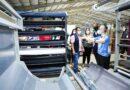 Autoridades inspeccionan cumplimiento de medidas de bioseguridad en fábrica textilera TexOps