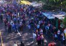 Vendedores independientes protestan en contra de la detención de 21 de sus compañeros por estar en contra del alcalde Muyshondt