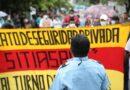 Trabajadores de la seguridad piden a la Asamblea pronta aprobación de un Código de Trabajo que respete sus derechos laborales